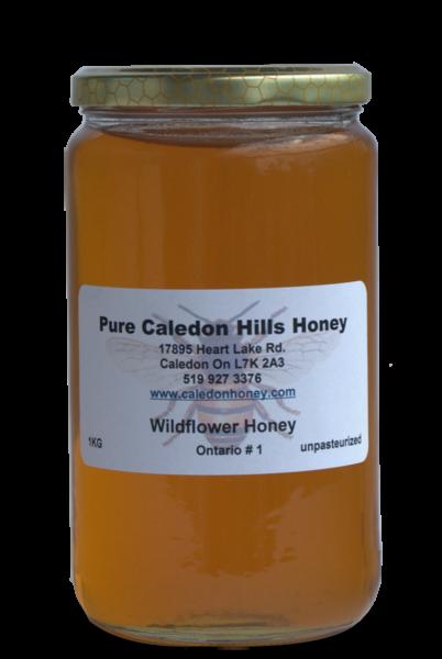 1kg Wildflower Honey
