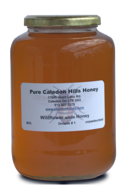 2kg Wildflower Honey