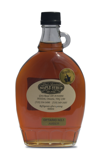 500ml Pure Maple Syrup